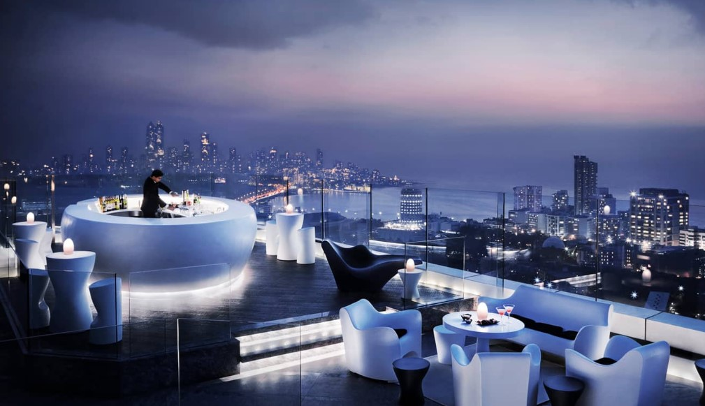 The Aer Bar in Mumbai